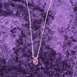 ✨Avon pink gem necklace